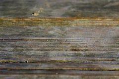 Поднимающее вверх деревянной скамьи близкое Стоковые Фотографии RF