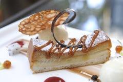 Поднимающее вверх десерта близкое Стоковая Фотография RF