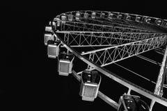 Поднимающее вверх и высокое колесо Ferris Стоковые Изображения