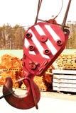 Поднимаясь крюк металла Стоковая Фотография RF