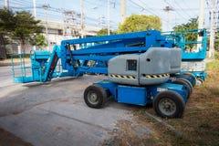 Поднимаясь подъем заграждения в строительную площадку , Индустрия дела Стоковая Фотография