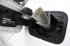 Поднимая газовые цены Стоковые Фото