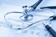Поднимая медицинская цена стоковое изображение