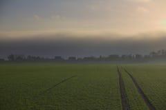 Поднимая шторм над Grubenhagen Стоковое Изображение RF