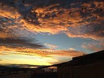 Поднимая Sun Стоковые Изображения