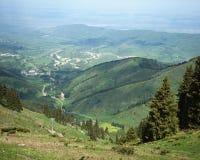 Поднимитесь в горы Стоковые Фото