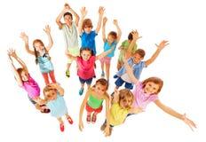 Поднимите ваши руки в воздухе стоковая фотография rf