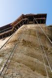 Поднимите кабели водя в вход балкона Стоковые Фотографии RF