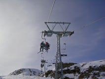 поднимите лыжу Стоковые Фото