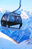 поднимите лыжу гор Стоковое Фото