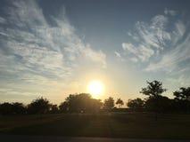 Полное небо с образованием облака Стоковое Изображение