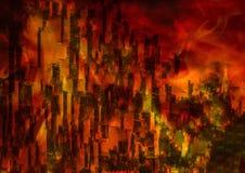 Полное разрушение Стоковое Изображение RF