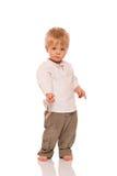 Полнометражный портрет молодого мальчика Стоковая Фотография