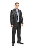 Полнометражный портрет элегантного человека Стоковые Фотографии RF