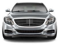 Полноразмерное роскошное автомобильное вид спереди Стоковое Фото