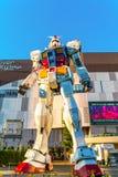 Полноразмерные представления вне площади токио DiverCity, Oda Gundam Стоковое фото RF