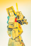 Полноразмерные представления вне площади токио DiverCity, Oda Gundam Стоковое Фото