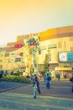 Полноразмерные представления вне площади токио DiverCity, Oda Gundam Стоковое Изображение RF