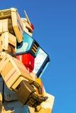 Полноразмерные представления вне площади токио DiverCity, Oda Gundam Стоковые Изображения