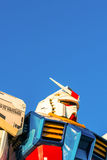 Полноразмерные представления вне площади токио DiverCity, Oda Gundam Стоковая Фотография RF