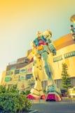 Полноразмерные представления вне площади токио DiverCity, Oda Gundam Стоковые Фото