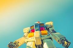 Полноразмерные представления вне площади токио DiverCity, Oda Gundam Стоковое Изображение