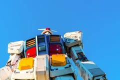 Полноразмерные представления Gundam вне площади токио DiverCity, Стоковые Фото