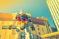 Полноразмерные представления Gundam вне площади токио DiverCity, Стоковое Изображение