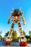 Полноразмерные представления Gundam вне площади токио DiverCity Стоковое Изображение
