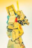 Полноразмерные представления Gundam вне площади токио DiverCity Стоковые Изображения RF
