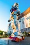Полноразмерные представления Gundam вне площади токио DiverCity Стоковые Фото
