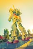 Полноразмерные представления Gundam вне площади токио DiverCity Стоковая Фотография RF