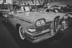 Полноразмерный лидер Обратим Edsel автомобиля, 1958 Стоковые Изображения