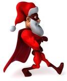 полностью архив элементов цвета cmyk claus рождества знамени легкий editable наслоил режим отдельно установленный santa супер иллюстрация штока