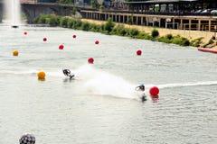 Полностью гонка Стоковое Изображение RF