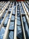 Подносы бурового колона от депозита золота Стоковое фото RF