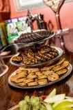 Поднос печенья девочка-скаута Стоковое Фото