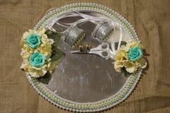 Поднос свадьбы Стоковая Фотография RF