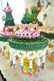 Поднос с постаментом для wedding Стоковые Изображения RF