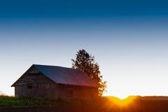 Полночь на полях Стоковое Изображение RF