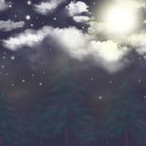 полночь Стоковое фото RF