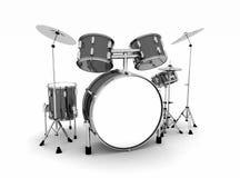 Полный барабанчик установленный с цимбалами Стоковая Фотография RF