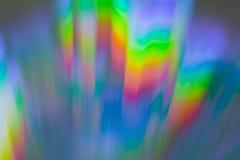 Полный диапасон макроса КОМПАКТНОГО ДИСКА цветов Стоковое фото RF