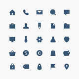 Полный комплект значка дела Стоковые Фотографии RF
