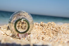 полный песок Стоковое Изображение