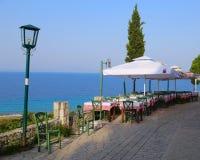 подныривание клуба кафа пляжа стоковая фотография