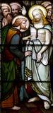 Поднятый Иисус с Mary Magdalene стоковые фотографии rf