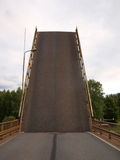 Поднятый мост Стоковая Фотография RF