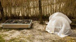 поднятый сад кроватей стоковые изображения rf