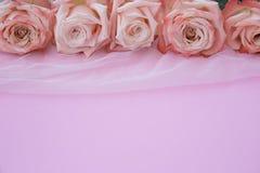 Подняла, цветет, предпосылка, романская Стоковые Фотографии RF